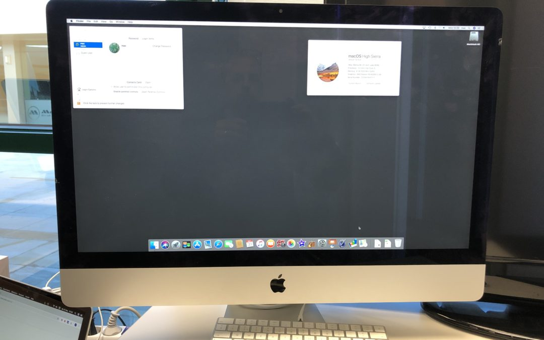 "iMac 27"" 3,5ghz i5, 1tb fusión drive, 8gb (upgradable to 32gb) no keyboard or mouse 1200 euros"