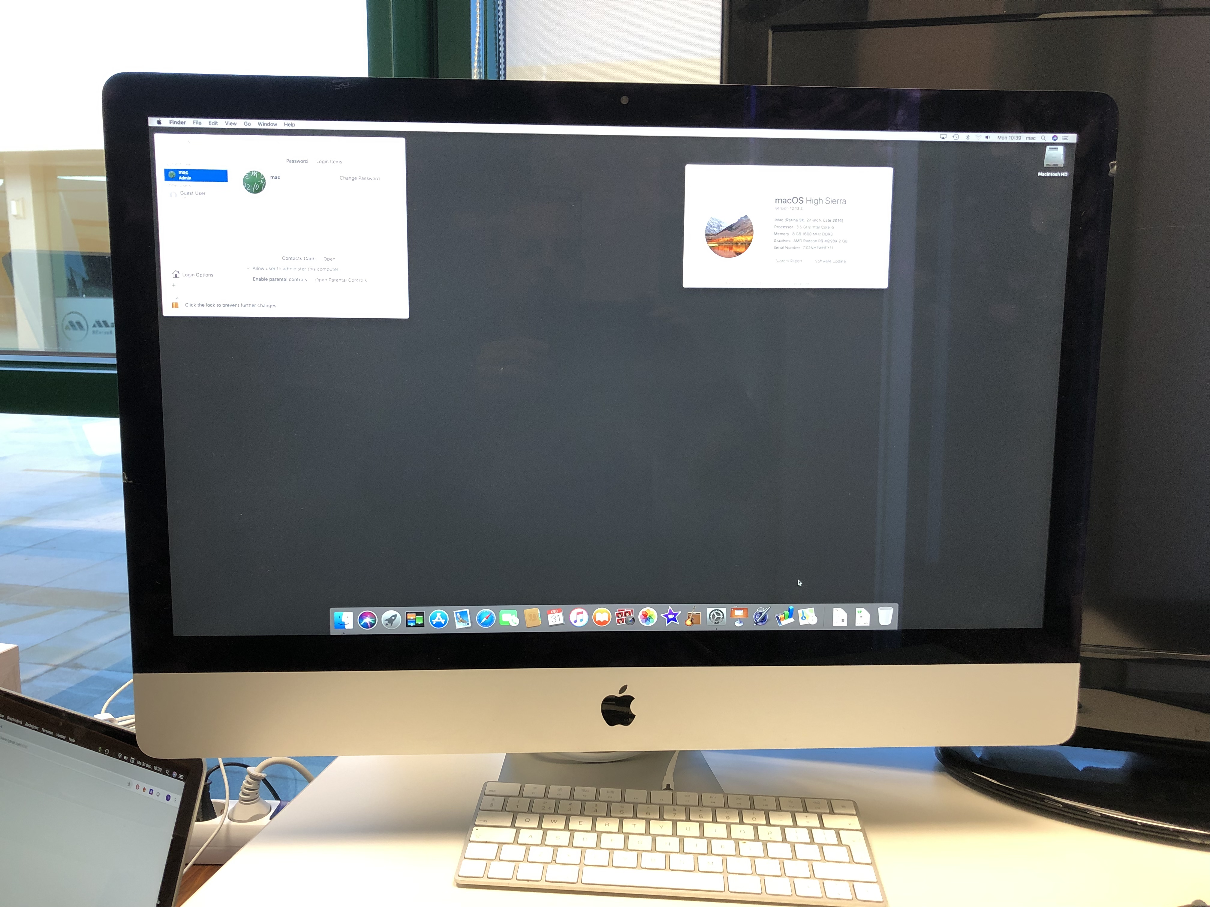 "iMac 27"" 3,5ghz i5, 1tb fusión drive, 8gb 1200 (Reduced 1000Euros)"