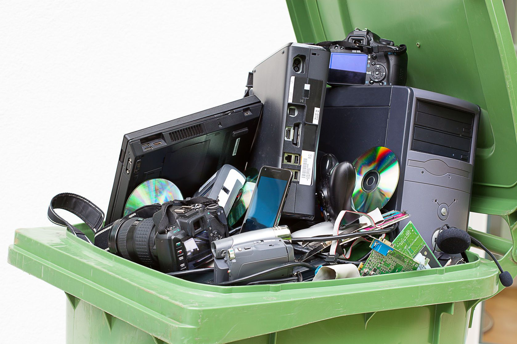 Computer, Ink and other electronic recycling
