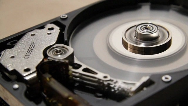 Don't move your HardDrive while it is connected